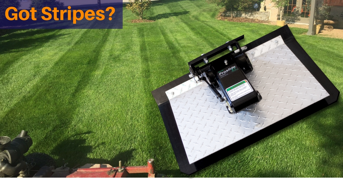 Proslide XT Lawn Mower Sulky 1