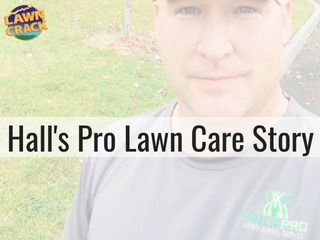Hall's Pro » Story and Advice from Joshua Hall of Hall's Pro