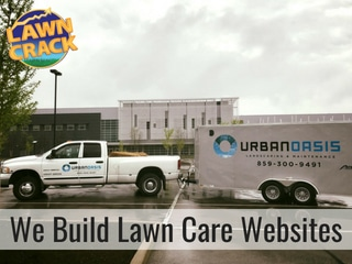 Lawn Care Websites by Lawn Crack