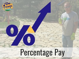 How to Pay Your Lawn Care Employees on Percentage Pay
