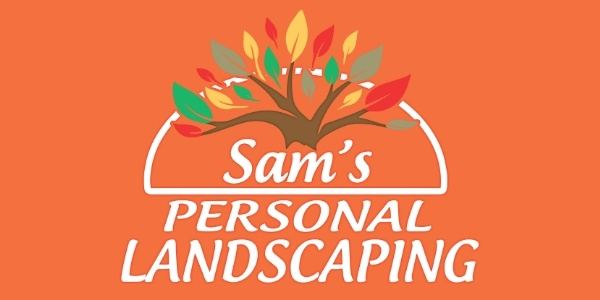 The logo for Sam's Personal Landscaping