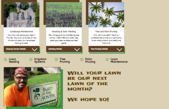 Website Design for Lawn Care Companies